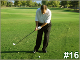 Chipping Backswing - Still Only Arms
