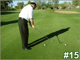 Pitching Backswing Incorrect