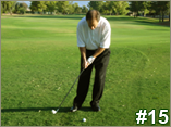 Chipping Backswing - Arms Only