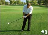 Golf Club Should Swing Up
